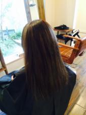 ブリーチなしで赤味のないアッシュブラウン! Hair Salon Cocoa所属・KyoElyseのスタイル