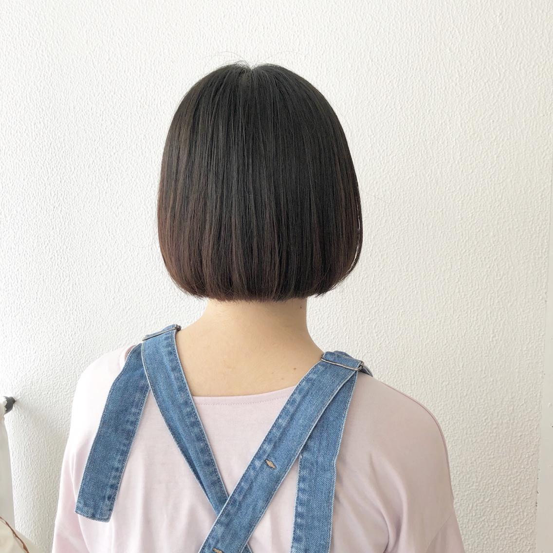 #ショート #カラー #パーマ #ヘアアレンジ 【バルーンボブ】  Instagramにもヘアスタイル載せてますので是非♪♪  https://instagram.com/yuuki_matsui_/