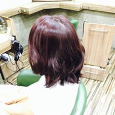 ボルドー Hair Salon Be-one所属・田中陸のスタイル