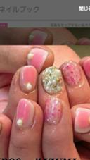 今年人気☺ 話題のチークネイル Nail Salon Grace所属・吉田佳那のフォト