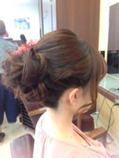 結婚式のお呼ばれアレンジ♡ 江口葵のスタイル