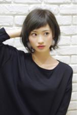 松田光雄のミディアムのヘアスタイル