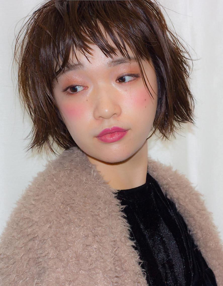 メイクも髪型もかわいい渡辺友美子