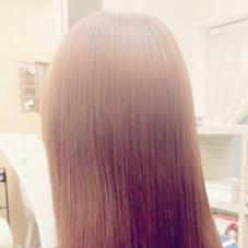 外人風、柔らかピンク系カラー サロンドクチュリエ所属・Rumikoるみ子 中目黒のスタイル