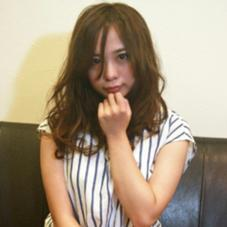 長めバングで大人かわいい☆無造作セミロング☆ THETA 所属・yoshida ☆のスタイル