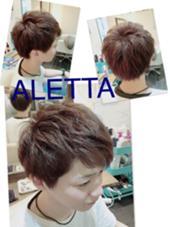 ブルージュ☆メンズ ALETTA HAIR PRODUCE(アレッタヘアプロデュース)所属・店長  高木美樹のスタイル