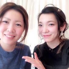 睫毛エクステ ¥3200〜 アパカバール北花田店所属・中川莉沙のスタイル