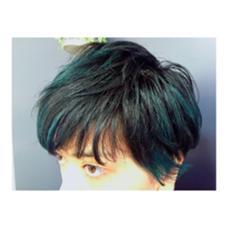 グリーン×ブルー LACO hair&spa所属・岩崎こなつのスタイル