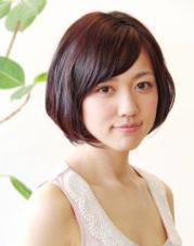 コロッとしたシフォンボブ 軽いワックスでスタイリング簡単!! Hair Make Bracca所属・富山大輝のスタイル