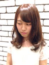 約半年ぶりのカラー☆ 全体的に赤みを抑えて グリージュで透明感◎ &.Sugar所属・三浦愛美のスタイル