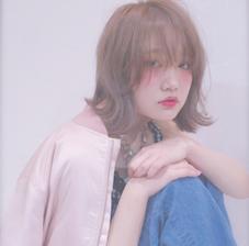 うざバングの外ハネスタイル☝︎ kitchen所属・Rui♡のスタイル