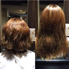 hair&make trois所属・中村直のスタイル