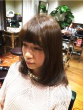 ノンブリーチ ダメージレスカラー 外国人風マットグレイ  Agu hair RIDE所属・Agu hairRIDEのスタイル