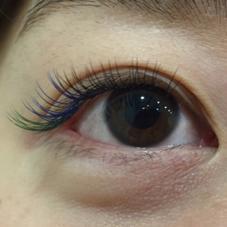 目尻が長めのデザインです!! 目尻を長くすることによって大人っぽくなります♡ neolive &所属・佐々木愛里のフォト