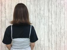 カット▷外ハネスタイル カラー▷ピンクブラウン KENJE 善行所属・浪華楓のスタイル
