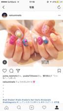 アート4本コース+料金 ネイルサロンmoca高槻店所属・佐藤奈津美のフォト