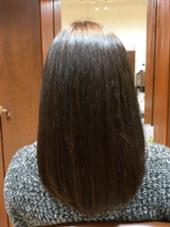 まとまりやすいグラデーションスタイル お手入れがらくらくです(^^)! Dejave hair&space所属・鶴岡七海のスタイル
