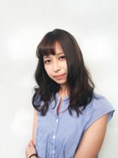 落ち着きのある可愛さ ♡  暗めのマットブラウン Hair studio olive 駒川店所属・久徳美由紀のスタイル