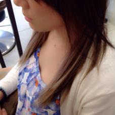 インナーカラー☻ さりげなく見えるシルバー感がオススメです(^^)  Aria所属・エンドウアキのスタイル