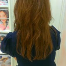 ロングヘア Hairsalon 7{Na-na}所属・ayumiのスタイル