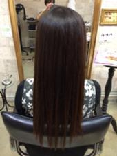 ロングストレート CHERIE hairdesign所属・ヨシダタイシのスタイル
