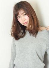 ランダムなカールがポイント☆ リッツガーデン所属・長尾克則のスタイル