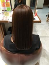 初カラー トーンを上げて少しくすませました Hair Garden Riesort所属・和泉勇輝のスタイル