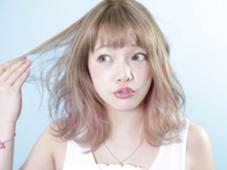 ダブルカラーで外国人のような透明感☆ KR辻堂所属・kyuhiのスタイル