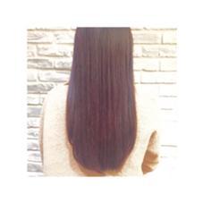 つやつやピンクブラウン✨ オレンジに抜けてしまっていた髪色もとってもツヤツヤで綺麗に一色に♪ RADnoel梅田所属・鈴木良華のスタイル