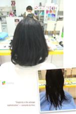 パッと見て可愛く柔らかく見えるようにばっさりカットさせて頂きました♪ 物腰が柔らかいお客様だったので髪の毛も柔らかい感じに仕上げました! Hair Studio   JAP所属・辻ゆうきのスタイル