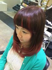 グラデーションだけじゃなく前髪もおしゃれに! Lee西宮店所属・徳田慶太のスタイル