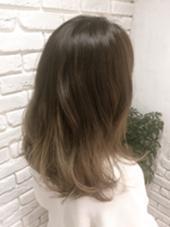 グラデーションカラー agir hair所属・江幡渉のスタイル