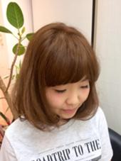 agir hair所属・江幡渉のスタイル