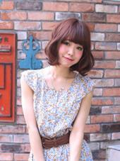 ベリー系カラー+甘ふわボブ◇* TRUMP omotesando所属・前濱ノゾミのスタイル