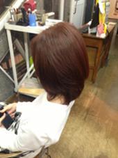 HAIR ESTE RISU所属・安部比香里のスタイル