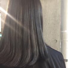 ☆シルバーグレー ダブルカラー¥6000〜 salon de MiLK所属・園田友梨香のスタイル