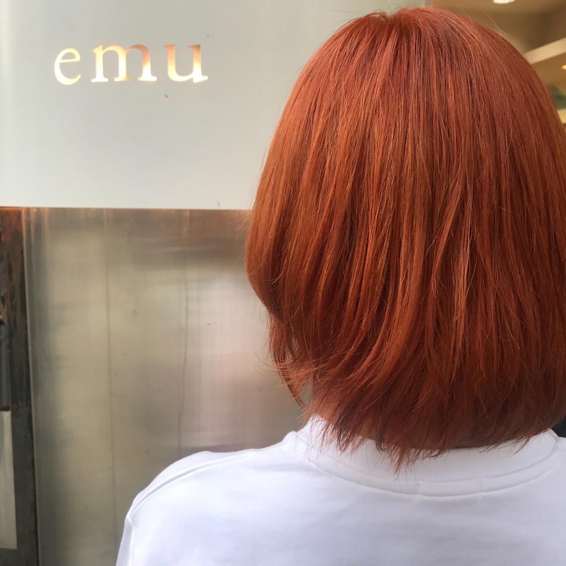#カラー apricot orange🍊💕