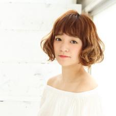 ボブ パーマスタイル♡ Of HAIR所属・藤岡まなみのスタイル