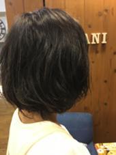 ゆるふわパーマ! お仕上げは軽くワックスと オイルを混ぜてツヤをちょいたししました! Lani hair resort所属・ryomaYoshiharaのスタイル