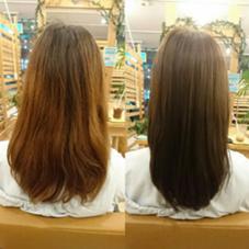 暗めのアッシュに♡ Hair garden Rold所属・井上野乃花のスタイル
