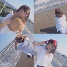 趣味 撮影   湘南&江ノ島  この夏可愛く使える小物ちゃん✨  バンダナと麦わら帽子でより可愛く見せましょう bijou所属・早野優吾のスタイル