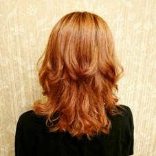 ディスコネのレイヤーオングラデーションで動きがつきやすくなってます。 Hair Salon Kaming所属・中村真也のスタイル