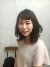 ハネミディ♪ わざとハネさせるのもカワイイです(^ω^) HACO所属・相川帆乃香のスタイル