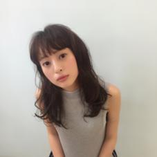 レイヤーをいれることで、ふわっとしたスタイリングが簡単にできますよ♪ HACO所属・相川帆乃香のスタイル