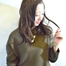 グレージュカラー♪ 軽さを出した透明感あふれるカラー! D.I.S福島店所属・有馬裕のスタイル