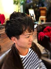 ゆるパーマ カシュカシュ所属・降旗駿のスタイル