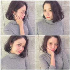 ゆるふわデジカールヌーディーカラー LABO-01 hair design所属・itoasamiのスタイル