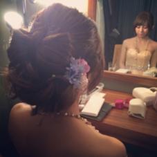 結婚式、パーティーセット Vida creative hair salon所属・堀竜太のスタイル