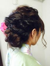 祭りのまえにかわいくヘアアレンジしてみました! Ash二子玉川店所属・根本りょうのスタイル