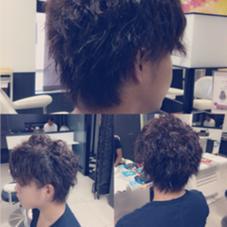 水嶋ヒロ風パーマでイメージチェンジしました^ ^  hair make Ash所属・佐藤光輝のスタイル
